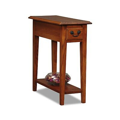 Leick 9017-MED Favorite Finds Chairside End Table, Brown 10 inch End Table