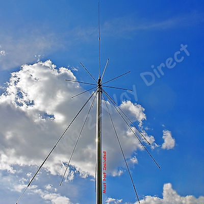 SUPER DISCONE SCANNER UHF VHF HAM AMATEUR BAND BASE STATION ANTENNA on Rummage