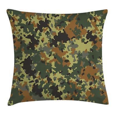 Camo Throw Pillow Cases Cushion Covers Home Decor 8 Sizes Am
