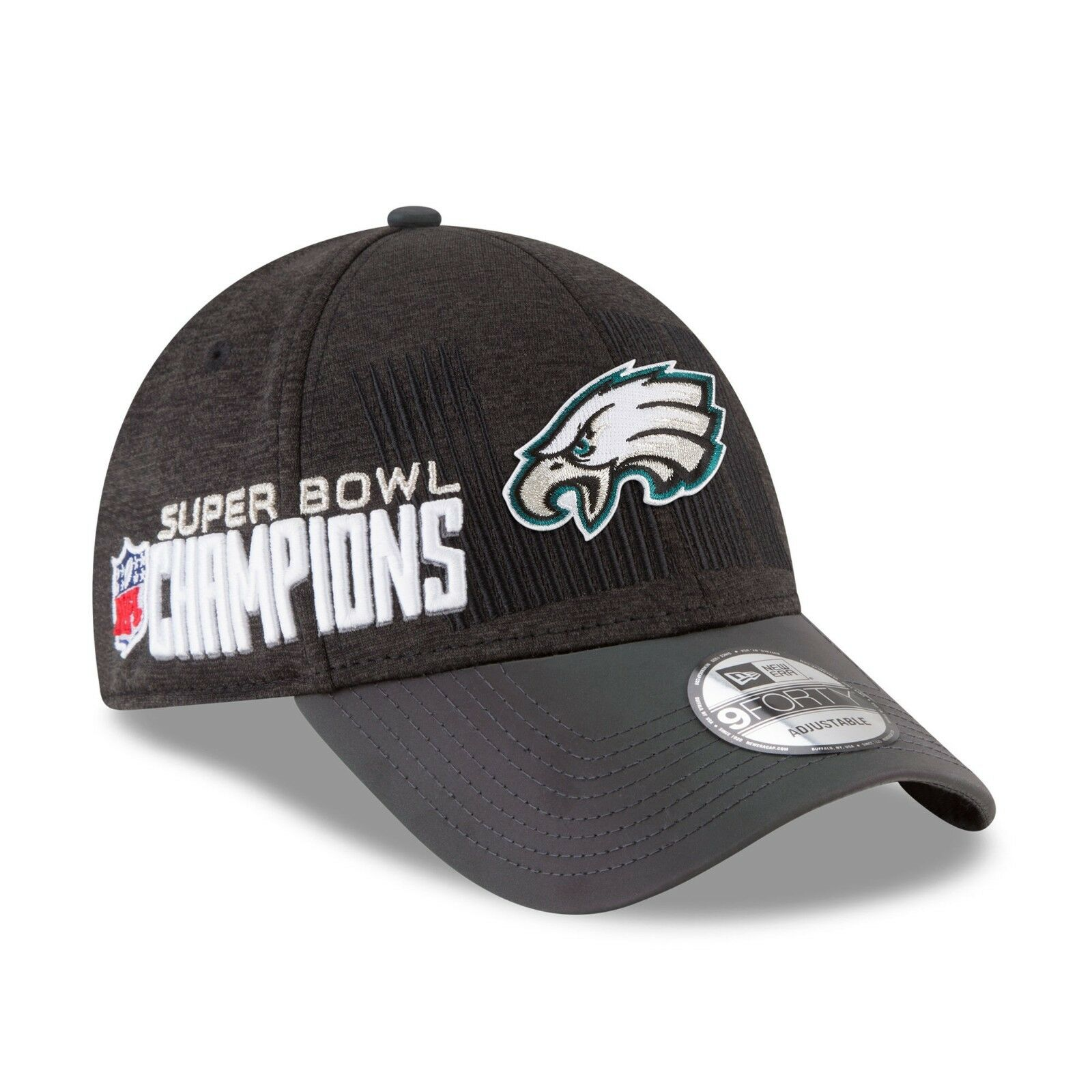 Philadelphia Eagles Super Bowl LII Champions Locker Room 9Forty New Era Hat