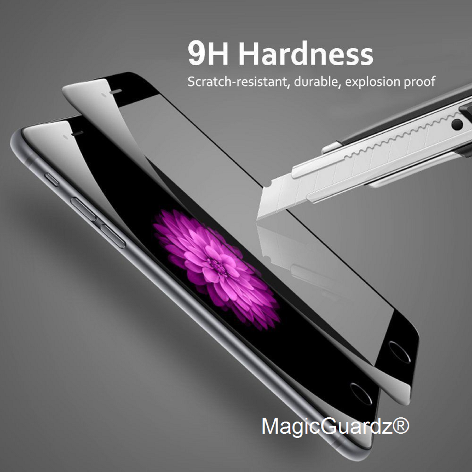 Full Coverage Tempered Glass Screen Protector For iPhone 6 7 8 Plus X Xs Max XR -   10 - Full Coverage Tempered Glass Screen Protector For iPhone 6 7 8 Plus X Xs Max XR