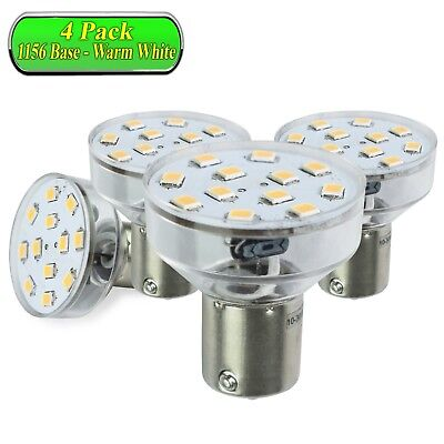 4 Leisure LED RV Camper Trailer Replacement interior Light Bulb 1383 / 1156 base