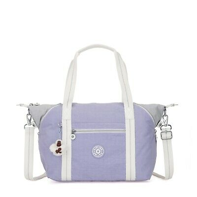 Kipling Large Shoulder Bag ART Travel Tote  ACTIVE LILAC BL  SS19 RRP £87