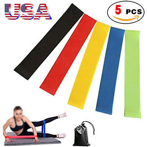 Fitness Equipments 2019 Latest Design Resistance Band Yoga Pull Rope Practical Training Elastic Band Durable Yoga Band Fitness Training Latex Rope Attractive And Durable