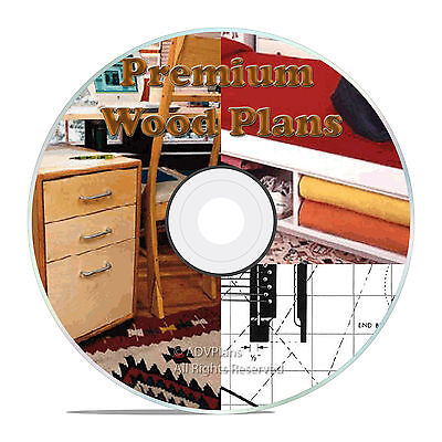 PREMIUM PLANS - TOOLS, TOYS AND FURNITURE, BEDSIDE NIGHT TABLE, WOOD DESKS CD