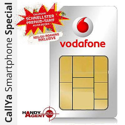 Vodafone D2 CallYa Smartphone SPECIAL Prepaid Sim Karte Handy Micro Nano LTE 4G