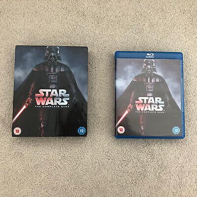 Star Wars The Complete Saga (Episodes I - VI) - Blu Ray