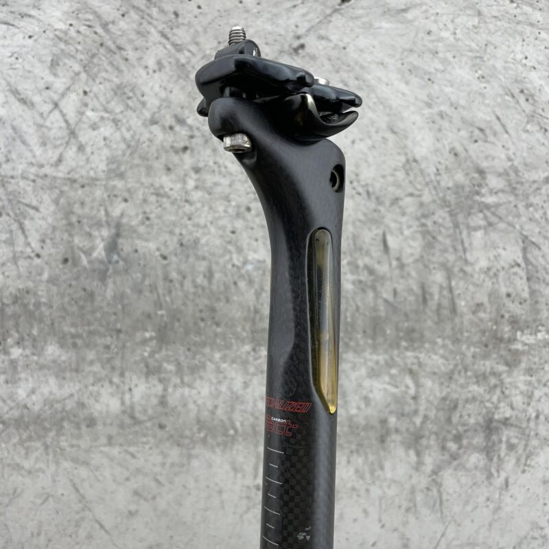 Specialized Carbon Seat Post  FACT 27.2mm Micro Adjust 2 Bolt Allez Elite