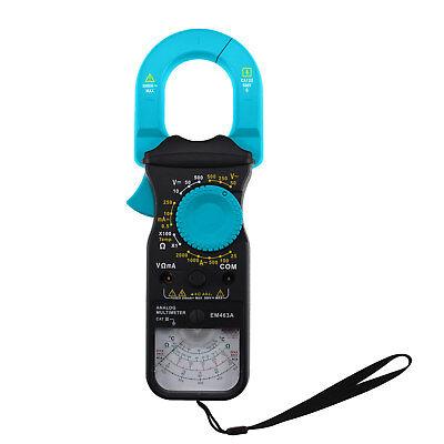 Analog Multimeter Clamp Safety Electric Test Meter Amp Volt Ohm Temp Catiii 500v