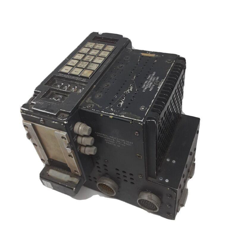 F-4 Phantom Sparrow Sidewinder Missile APG-59 Radar, Control Panel, Type C-9750B