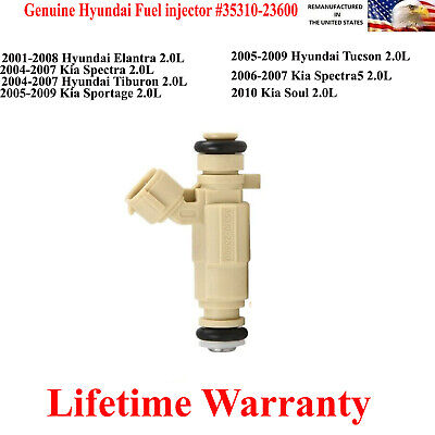 Genuine Hyundai Fuel Injector for 2006-2007 Kia Spectra5 2.0L 35310-23600