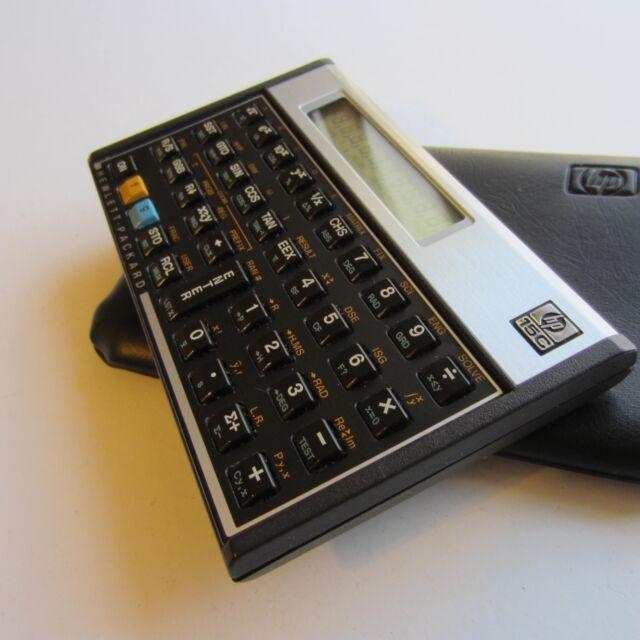 HP-15C Hewlett Packard Calculator HP 15C made in USA