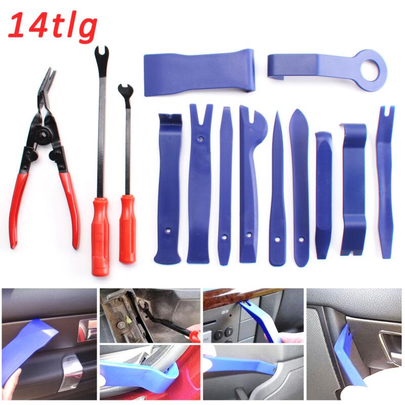 32-tlg Set Innenraum Verkleidung Werkzeug Demontage Montage Hebel Cliplöser NEU