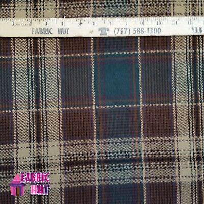 (Home Decor Rhinehard Plaid Heavy Upholstery Fabric by the Yard)
