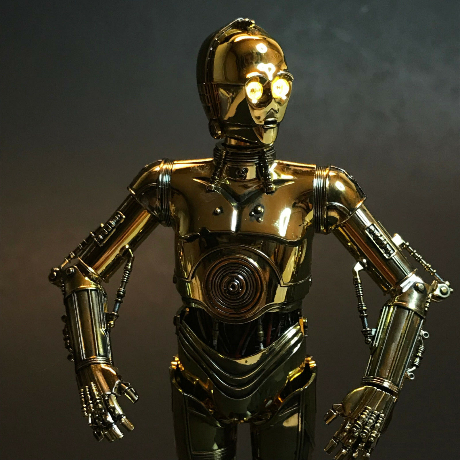 *LIGHTING KIT ONLY* for Bandai 1/12 Star Wars C-3PO Protocol Droid Figure