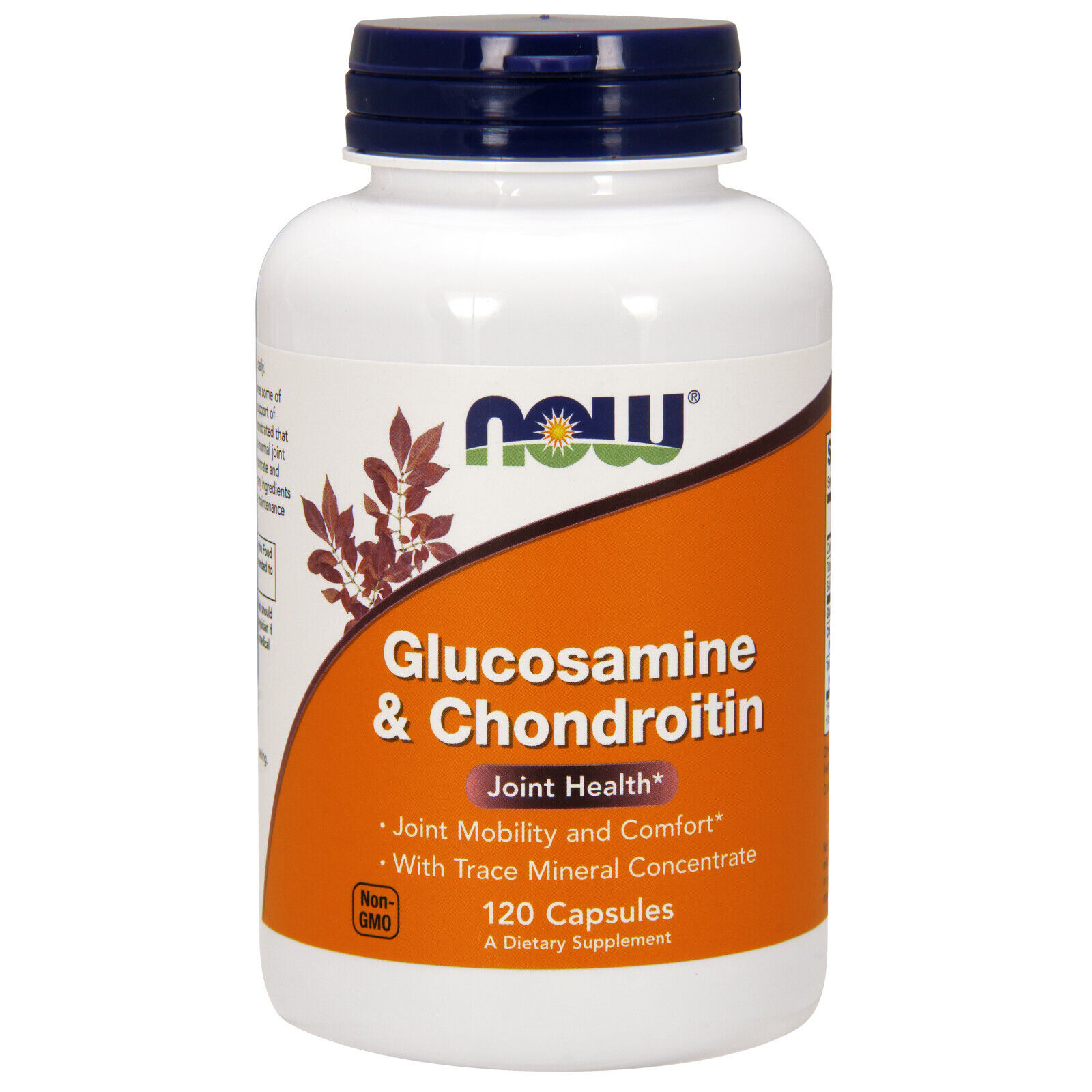 NOW Foods Glucosamine and Chondroitin/Mins, 120 Capsules