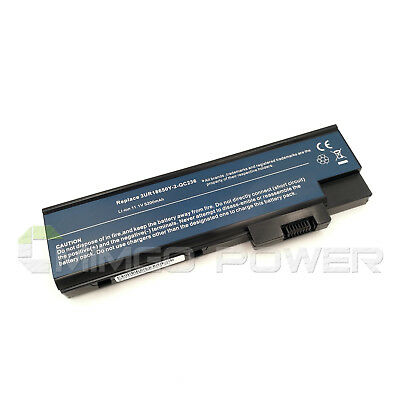Battery for Acer Aspire 5600 7000 7100 9300 TravelMate 5620 3UR18650Y-2-QC236