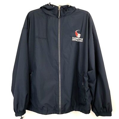 Charles River Apparel Windbreaker - Charles River Apparel Men's Jacket Hoodie Pullover Size L Coats Windbreaker