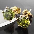 Emerald Stud Fashion Earrings