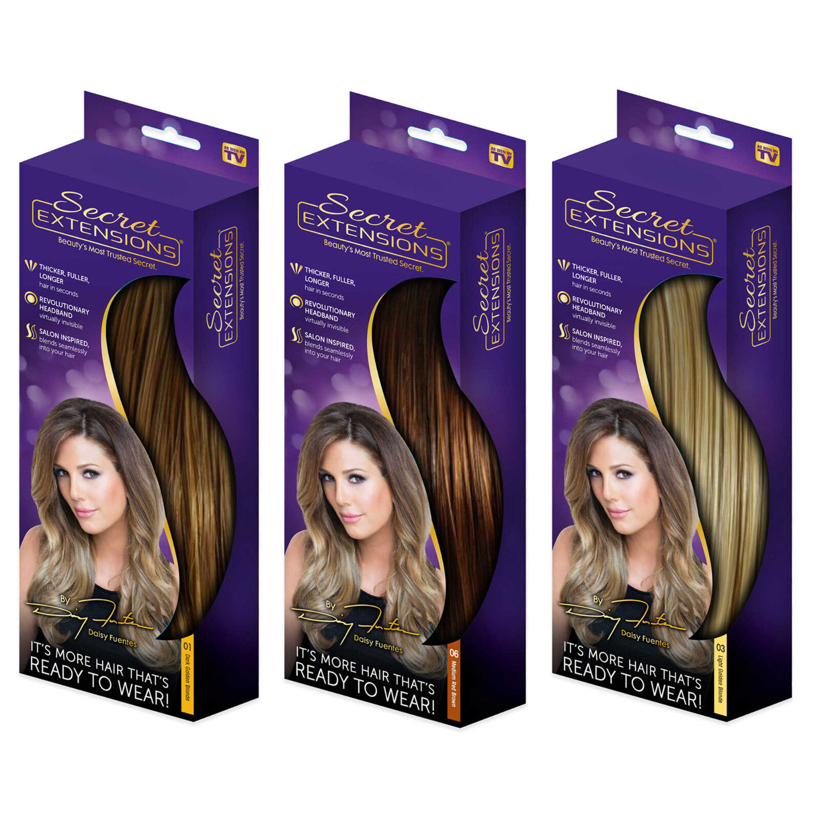 Secret extensions featuring daisy fuentes 16 double volume hair secret extensions featuring daisy fuentes 16 double volume pmusecretfo Gallery