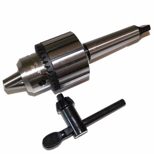 "3/4"" Heavy Duty Drill Chuck 3MT Shank in  Prime Quality MT3 Drill Chuck Keyed"