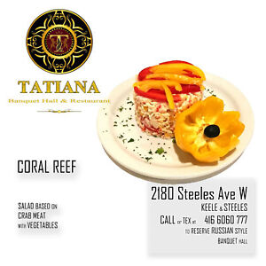 Tatiana Banquet Hall - Wedding ★ Private Event ★ Birthday Party★