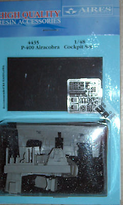 Aires 1/48 4435 P-400 Airacobra Cockpit Set for Hasegawa Kit