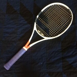babolat pure strike 16x19 (project one7), 4 3/8, mint condition