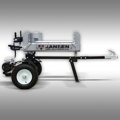 Holzspalter Jansen HS-20DS63E, 20 t, Elektromotor, spaltet in 2 Richtungen