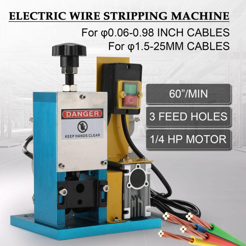 Automatic Scrap Cable Stripper Electric Wire Stripping Machi