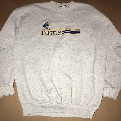 NFL St. Louis Rams Mens Sweatshirt Sweater Team Gear Size Large XL