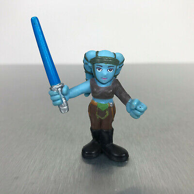 Star Wars Galactic Heroes AAYLA SECURA figure blue woman Jedi