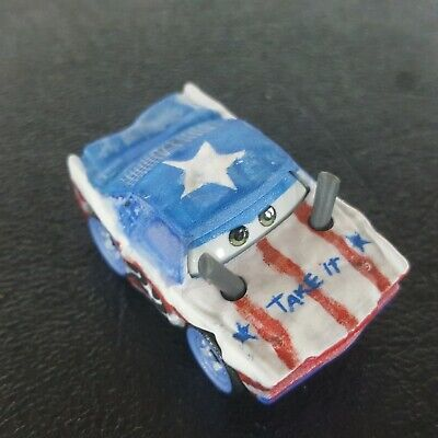 DISNEY PIXAR CARS DIE CAST MINI RACERS CIGALERT BOX #60 FREE SHIP $15