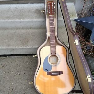 NORMAN 12 STRING ACOUSTIC, LEFT HANDED.