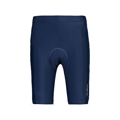 CMP Chicos Pantalones Cortos de Bicicleta Niños Azul Oscuro Elástica Liso