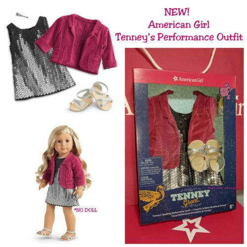 American Girl Doll Tenney'S Sparkling Performance Outfit New In Box Tenney Grant