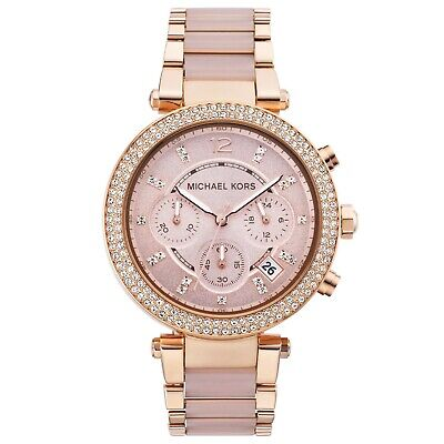 Michael Kors MK5896 Parker 39mm Ladies Watch - Rose Gold