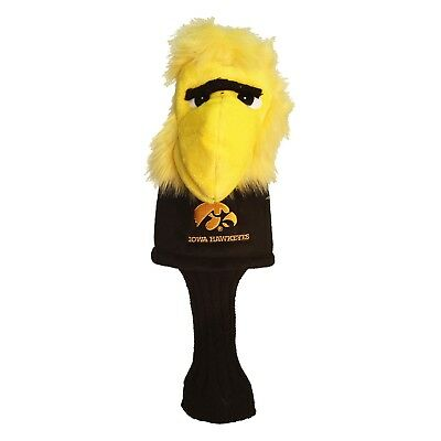- Iowa Hawkeyes Mascot Golf Driver Headcover - Oversize - Bag Club Wood