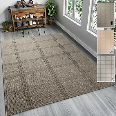Outdoor Indoor Patio (TAPISO Outdoor / Indoor Rugs Sisal Like for Kitchen Patio Dining Room 6mm Pile )