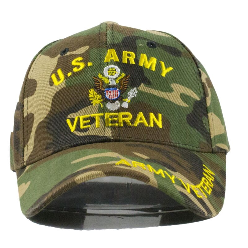 2ca2d38c763 US Military Tactical Army Navy Marine Air Veteran Adjustable Baseball Cap  Hat