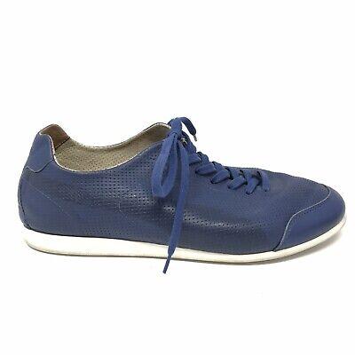Puma X Hussein Chalayan Mens Size 9.5 Urban Allvar Low Top Sneaker Blue Leather