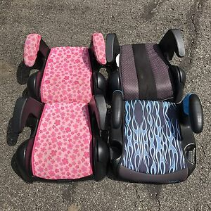 Child booster car seats. Set of four