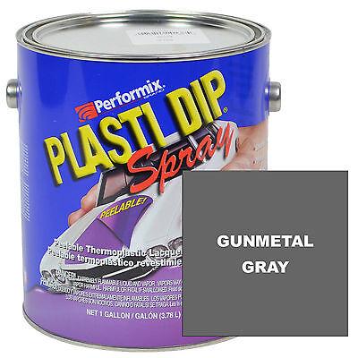 Plasti Dip Spray 1 Gallon Can Ready To Spray Matte - Gunmetal Gray