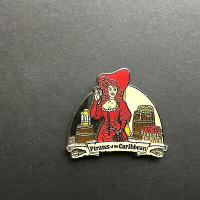 Pirates of the Caribbean - The Redhead Disney Pin 45774