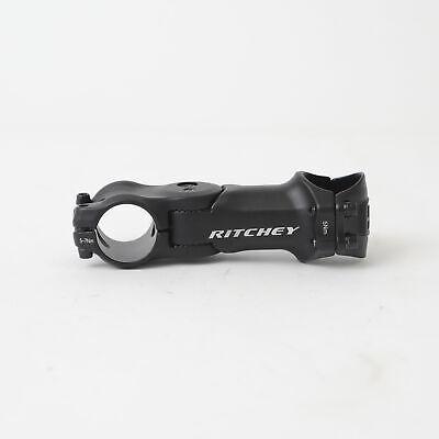 1-1//8 Ritchey 4-Axis Adjustable Stem: 105mm BB Black 31.8