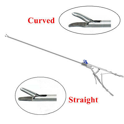 Fda V Needle Holder Curvedstraight 5x330mm Laparoscopy Laparoscopic Endoscopy