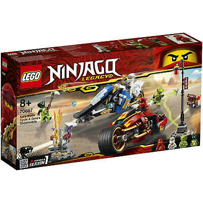 LEGO 70667 Ninjago Kai's Blade Cycle and Zane's Snowmobile