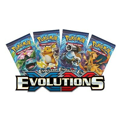 ( 1 PACK ) Pokemon XY Evolutions Sealed Booster Pack Pokemon Cards