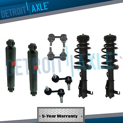 8pc Sway Bar Links & Shock Absorbers & Struts For 2005-2012 Nissan Pathfinder (Nissan Pathfinder Sway Bar)