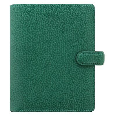 Filofax Pocket Finsbury Leather Organizerplanner Forest Green -025448 Brand New
